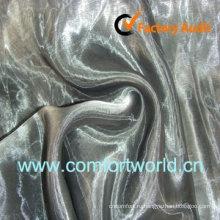 Новый дизайн из органзы занавес ткань изготовлена из 100% полиэстера из органзы