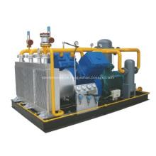 Permutador de Calor de Alumínio para Compressor Montado em Patins