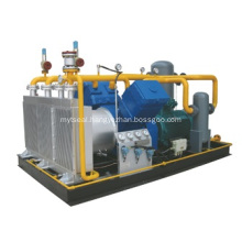 Aluminum Heat Exchanger for Skid-Mounted Compressor