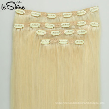 2016 New Fashion Hot Sale Seamless Clip In Hair Extensions