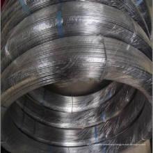45kg 250kg 450kg / Bobina 2.37 * 2.57mm 75g Galvanizado Oval Fence Wire