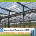 Taller de estructura de acero ligero con pintura ignífuga
