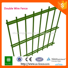 ISO9001 Decorative double wire garden fence