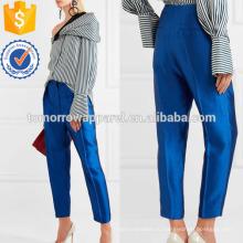 Шерсть-смесь Хромой зауженные брюки Производство Оптовая продажа женской одежды (TA3027P)