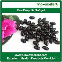 Cápsulas blandas de Softgel de propoleo de abeja