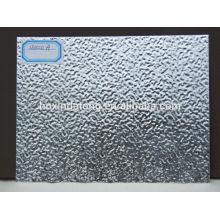 Hojas de aluminio corrugado