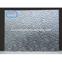 Folhas de alumínio corrugado