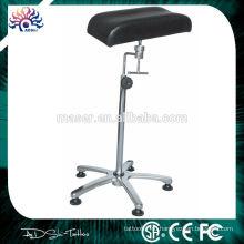 Высота регулируемая кожа татуировки стул для отдыха ноги, сделанные в Китае профессиональный подставка для ног табурет тату подлокотник, новый подлокотник татуировки