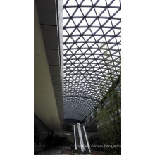Decorative Exterior Cladding Glass Facade for Office Building Roof