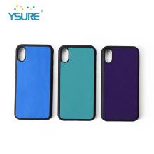 Etui de téléphone en cuir personnalisé pour iPhone Xs