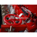 china factory supply wheat seeder, best sale 24 lines wheat planter machine