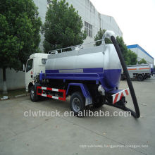 factory supply Dongfeng sewage suction truck, 4m3 vacuum sewage truck pump