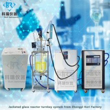 Digital Stirred glass reactor for mixing stirring
