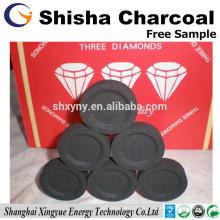 Charbon de shisha étoile de 33mm pour le narguilé
