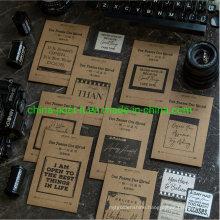 Retro Design Paper Adhesive Stickers Package of 40PCS Per Set