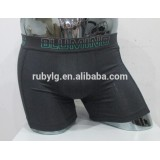 quality Custom 95%bamboo+5%spandex man underwear boxer short from underwear factory