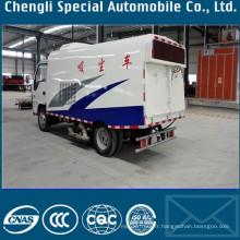 Camion de balayeuse de piste d'aéroport Balayeuse de route de 6 cm3