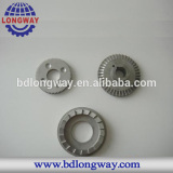 silicasol casting stainless steel gear for agriculture