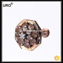 URO neue Design beliebten Metall Vorhang Stange Haken für Haus
