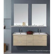 New design wall hung plywood bathroom vanity