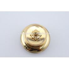 Top quality golden Acrylic jar