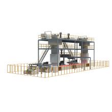 Трехлучевая машина для производства композитных нетканых материалов