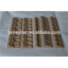 carved decorative wood frame , house wood moldings, embossed furniture wood frame
