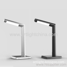 6w Metallic Silver Led Office Decorative Lamp