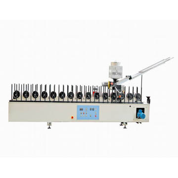 woodworking foam pasting machine