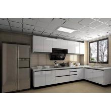 Design personalizado 2 embalagens de alto brilho Lacquer pintura Gabinete de cozinha