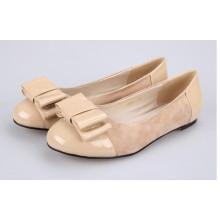 2016 nuevo estilo de zapatos de vestir planos de las mujeres (HCY02-883-2)