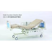 Multifunktions-Elektro-Krankenhausbett mit einem Knopf sitzen Funktion