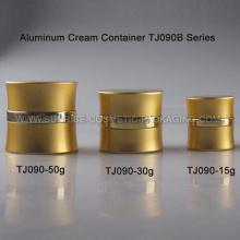15ml 30ml 50ml aluminio oro crema envase