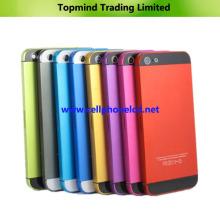 Cubierta de batería de la cubierta de la cubierta de colores para el iPhone de Apple 5