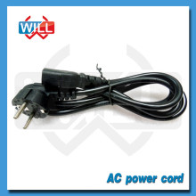 220V Cable de alimentación de 90 grados Cable de alimentación