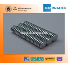 Customized Strong Small Round Magnet With ISO/TS 16949
