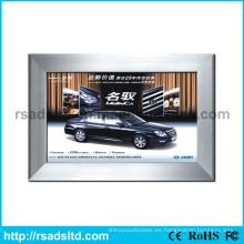 Publicidad de la caja de luz de tela textil LED