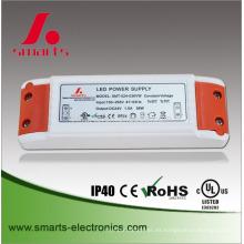 caja de plástico 12v led fuente de alimentación 2a 24w