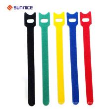 Classifique um gancho de nylon de matéria têxtil e um laço de cabo do laço