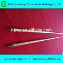 Varillas de cobre / varilla de tierra de acero recubierto de cobre / accesorios de cables eléctricos