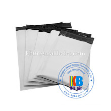 OPP PE LDPE white grey custom courier plastic mail bags
