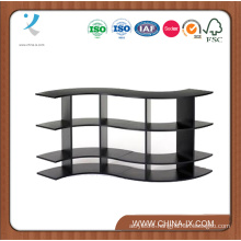 5′ Wide X 2.5′ Tall Wave Contour Display Rack