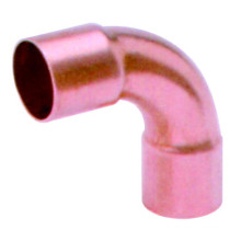 90 degree long elbow CXC, J9014 90 long elbow, copper pipe fitting, UPC, NSF SABS, WRAS approved