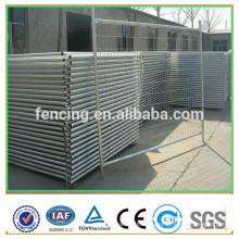 Cerco provisório da associação do quadro do metal da segurança / painéis de cerca soldados provisórios do metal para a venda (preço de fábrica)