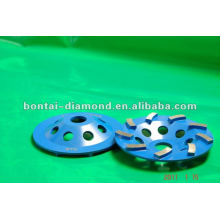 Diamond cutting wheels for concree grinding