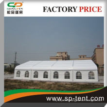Outdoor large canvas 20mx30m party wedding tent hot curved tent in south africa