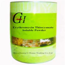 Poudre soluble en thiocyanate d'érythromycine
