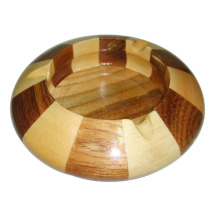Exquisite Special Design Hao Verkauf von Cicular Holz Aschenbecher