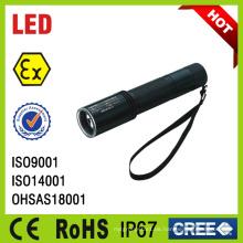 IP67 wiederaufladbare Mini LED Explosionsgeschützte Taschenlampe Lampe