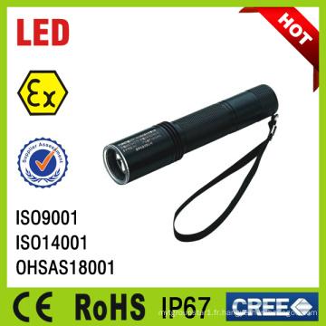 Lampe rechargeable anti-déflagrante de la mini lampe LED IP67 d'IP67